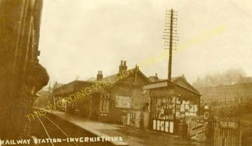 Inverkeithing Railway Station Photo. Dunfermline - North Queensferry Line. (7)