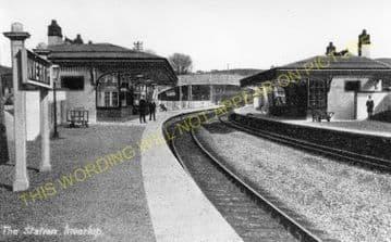 Inverkip Station Photo. Wemyss Bay - Ravenscraig. Cathcart Line. (2)
