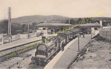 Inverkip Station Photo. Wemyss Bay - Ravenscraig. Cathcart Line. (4).