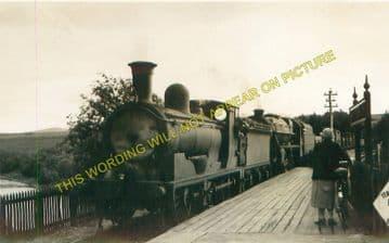 Invershin Railway Station Photo. Culrain - Lairg. Bonar Bridge to Rogart. (9)