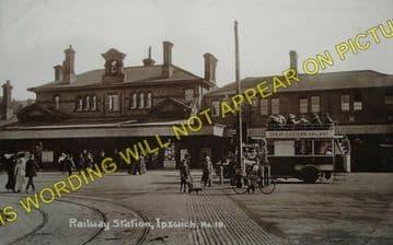 Ipswich Railway Station Photo. Great Eastern Railway (8)