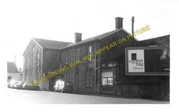 Irvine Railway Station Photo. Kilwinning - Gailes. Glasgow & South Western. (1)..