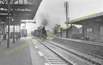 Irvine Railway Station Photo. Kilwinning - Gailes. Glasgow & South Western. (2)