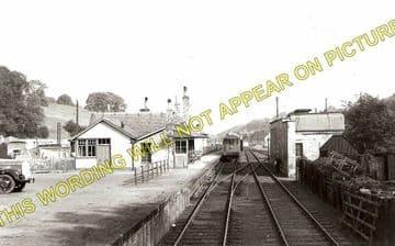 Jedburgh Railway Station Photo. Jedfoot, Nisbet, Kirkbank and Roxburgh Line (2)