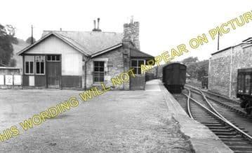 Jedburgh Railway Station Photo. Jedfoot, Nisbet, Kirkbank and Roxburgh Line. (1)