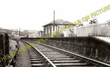 Jedfoot Railway Station Photo. Jedburgh - Nisbet. Roxburgh Line. NBR. (1)