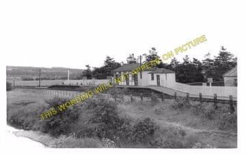 Jedfoot Railway Station Photo. Jedburgh - Nisbet. Roxburgh Line. NBR. (2)