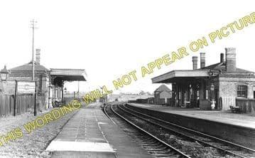 John O' Gaunt Railway Station Photo. Lowesby - Great Dalby. (1)