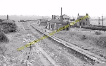 John O' Gaunt Railway Station Photo. Lowesby - Great Dalby. (2)