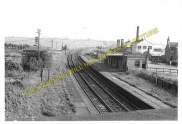 John O' Gaunt Railway Station Photo. Lowesby - Great Dalby. (3).