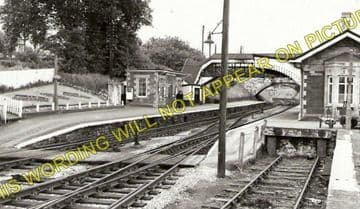 Johnston Railway Station Photo. Haverfordwest to Milford Haven & Neyland. (1)