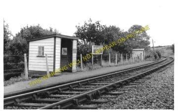 Jordanston Railway Station Photo. Letterston - Fishguard & Goodwick. GWR. (1)