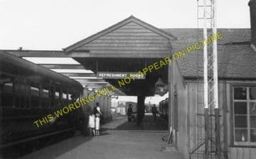 Keith Junction Railwy Station Photo. Grange to Auchindachy and Mulben Lines. (2)..