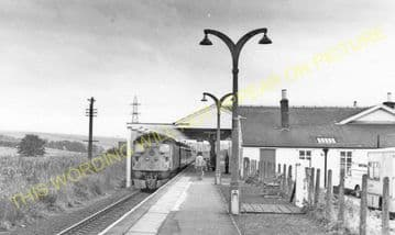 Keith Junction Railwy Station Photo. Grange to Auchindachy and Mulben Lines. (7)