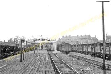 Kennett Railway Station Photo. Newmarket - Higham. Bury St. Edmunds Line (8)