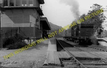 Kentallen Railway Station Photo. Ballachulish - Duror. Appin and Connel Line (1)