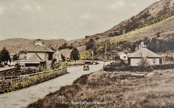 Kentallen Railway Station Photo. Ballachulish - Duror. Appin and Connel Line (4)