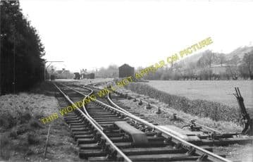 Kerry Railway Station Photo. Abermule Line. Cambrian Railways. (4)