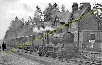 Kerry Railway Station Photo. Abermule Line. Cambrian Railways. (7)