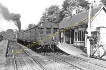 Ketton & Collyweston Railway Station Photo. Stamford - Luffenham. (10)