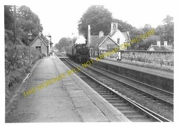 Ketton & Collyweston Railway Station Photo. Stamford - Luffenham. (6)