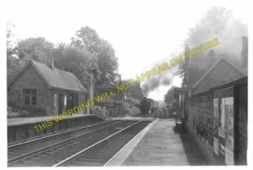 Ketton & Collyweston Railway Station Photo. Stamford - Luffenham. (8)