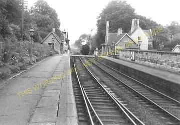 Ketton & Collyweston Railway Station Photo. Stamford - Luffenham. (9)
