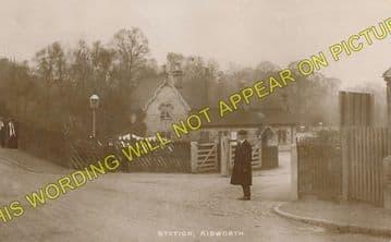 Kibworth Railway Station Photo. East Langton -Great Glen. (2)