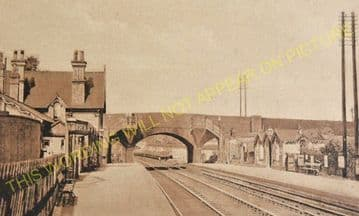 Kibworth Railway Station Photo. East Langton -Great Glen. (3)