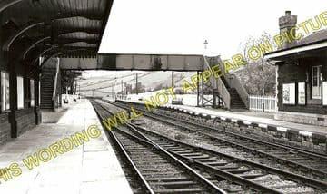 Kidwelly Railway Station Photo. Pembrey - Ferryside. Llanelly to Carmarthen. (2)