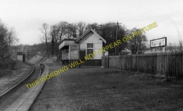 Kilbagie Railway Station Photo. Clackmannan - Kincardine. Alloa to Culross. (1).