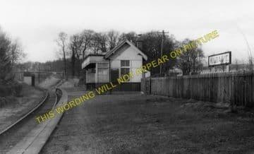 Kilbagie Railway Station Photo. Clackmannan - Kincardine. Alloa to Culross. (1).