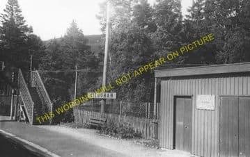 Kildonan Railway Station Photo. Helmsdale - Kinbrace. Forsinard Line. (1)