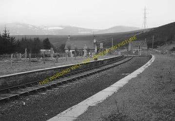 Kildonan Railway Station Photo. Helmsdale - Kinbrace. Forsinard Line. (6)