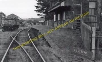 Kilgerran Railway Station Photo. Cardigan - Boncath. Glogue & Whitland Line. (2)