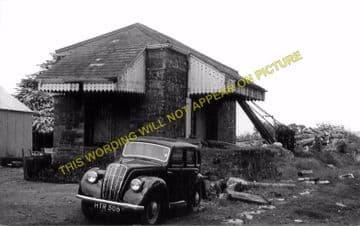 Kilgerran Railway Station Photo. Cardigan - Boncath. Glogue & Whitland Line. (3)