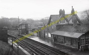 Killochan Railway Station Photo.  Girvan - Dailly. Glasgow & South Western. (1)..