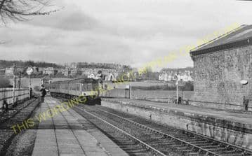 Kilmacolm Railway Station Photo. Greenock - Houston. G&SWR. (3)