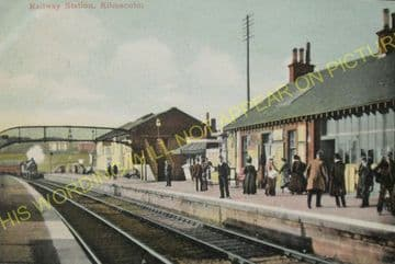Kilmacolm Railway Station Photo. Greenock - Houston. G&SWR. (6)