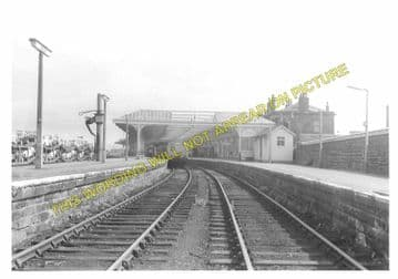 Kilmarnock Railway Station Photo. Glasgow & South Western Railway. (4)