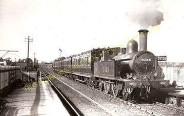Kinnerton Railway Station Photo. Broughton - Hope. Chester to Exchange Line. (1)