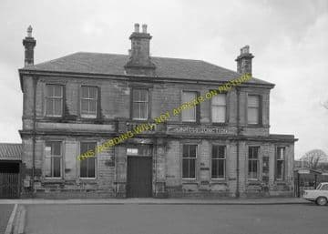Kinross Jct. Railway Station Photo. Milnnathort to Balado and Blairadam Line (4)