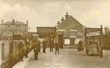 Kinross Jct. Railway Station Photo. Milnnathort to Balado & Blairadam Line (13)