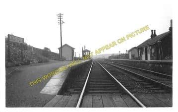 Kirkcowan Railway Station Photo. Newton Stewart - Glenluce. Portpatrick Line (1)