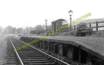 Kirkland Railway Station Photo. Moniaive - Crossford. Dunscore Line. (2)