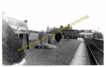 Kirtlebridge Railway Station Photo. Ecclefechan to Kirkpatrick and Annan. (2)