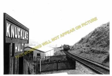 Knucklas Railway Station Photo. Knighton - Llangunllo. Knighton to Builth. (8)