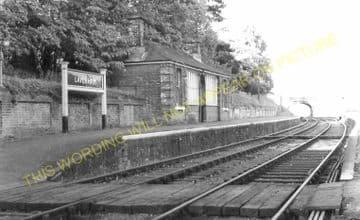 Lavenham Railway Station Photo. Long Melford - Cockfield. (9)