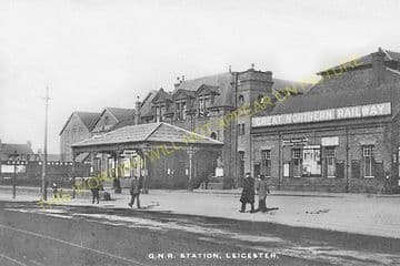 Leicester Belgrave Road Railway Station Photo. Great Northern Railway. (10)..