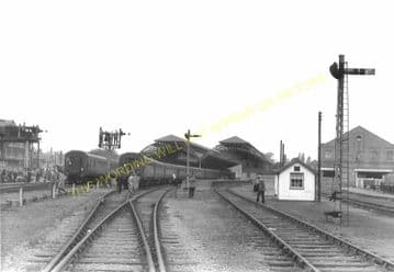 Leicester Belgrave Road Railway Station Photo. Great Northern Railway. (7)